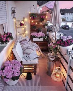 Small Balcony Design, Small Balcony Decor, Room Ideas Bedroom, Room Decor, Instagram Design, Instagram Story, Apartment Balcony Decorating, Apartment Balconies, Dream Rooms