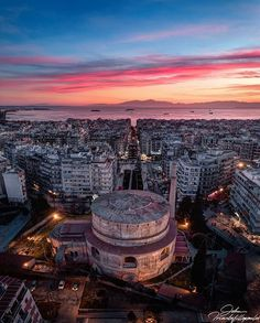 Thessaloniki - Greece by Ioannis Triantafullopoulos Thessaloniki, Paris Skyline, Travel Inspiration, Greece, National Parks, Places To Visit, City, Instagram, Mosque