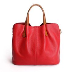 Beautiful Genuine Cow Leather Tote Exclusive-Choice of Colors