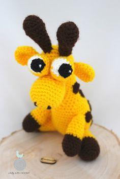 Lady with crochet: Zwariowana żyrafa / Crazy crochet girafffe