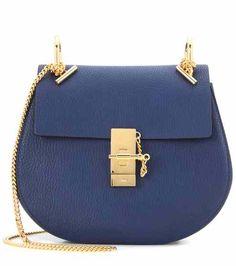Drew leather shoulder bag | Chloé