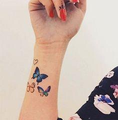 dibujos de tatuajes pequeños de mariposas