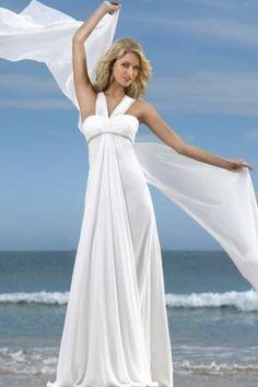 Destination Beach Wedding Dresses (Source: myfancystyle.com)