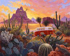 Stephen Morath - The Baja Trail - Digital Prints
