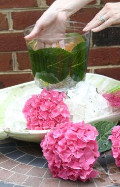Spring DIY Projects | See How To Make this Easy Hydrangea Centerpiece | Bright Bold and Beautiful