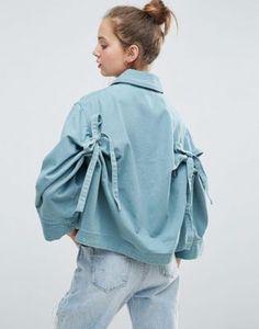 ASOS Bow Back Jacket