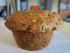 Muffins de manzana y avena. S