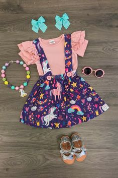 Shop cute kids clothes and accessories at Sparkle In Pink! With our variety of kids dresses, mommy + me clothes, and complete kids outfits, your child is going to love Sparkle In Pink! Cute Baby Girl Outfits, Cute Outfits For Kids, Toddler Girl Outfits, Baby Girl Dresses, Toddler Fashion, Kids Fashion, Babe, Baby Kids Clothes, Little Girl Fashion