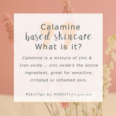 What Is Calamine? Can It Help Your Sensitive Skin? Do you have sensitive, irritated or problem skin? Is your sensitive skin constantly feeling irritated? Calamine could be your answer. Calamine's even listed on the WHO's essential medicines database – who Organic Skin Care, Natural Skin Care, Organic Beauty, Natural Beauty, Skincare Blog, Korean Skincare, Korean Makeup, Skincare Routine, Sensitive Skin Care