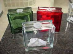 Here are some of the glass blocks they are selling here in ohio they were posted on graigslist.. some already have holes and plugs in them , you can use as banks. or what ever price is about $6.00 to 8.00 I noticed they are clearer than some of the blocks.. not sure what they would charge to send ou...