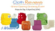 Cloth reviews great giveaway!