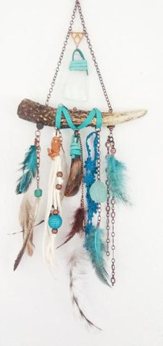 ☆ on a smaller scale that's a cool boho necklace