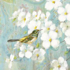 "Danhui Nai ""Spring Dream V"" Lithograph on Paper 20""x 20"" (print on demand)  #Realism"