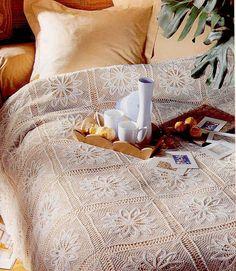 Irish crochet &: CROCHET BEDSPREAD ... ПОКРЫВАЛО