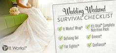 Getting ready to walk down the isle? Don't forget your #itworks products at your #wedding! www.shrinkwrapyourself.com #shrink #freedom #debtfree #weightloss #health #fitness #gym #wealth #skinny #bride #beach #workfromhome #money #opportunity #ripped #mommies  #bodywraps #babies #pregnant #wedding    Email me at info@ shrinkwrapyourself.com or call or  text me at 615-414-0298... if you want to enter to win a FREE WRAP come check out the Giveaway at the top at www.Facebook.com/funwrapparties…