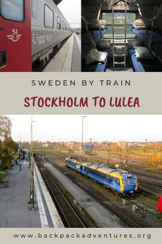 Stockholm to Lulea by train: the Lapland express - Backpack Adventures Amazing Destinations, Travel Destinations, European Travel Tips, North Europe, Sweden Travel, Travel Scandinavia, By Train, Travel Aesthetic, Travel Goals