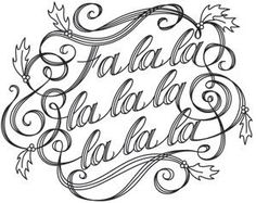 Kalligrafikus Fa La La_image