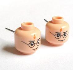 lego + Harry Potter + earrings = :-D