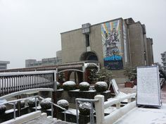 한양대학교 박물관 (설경)  - 눈오는날 : Snow in Hanyang University Museum, Seoul, Korea