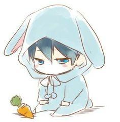 Baby bunny | Haruka Nanase
