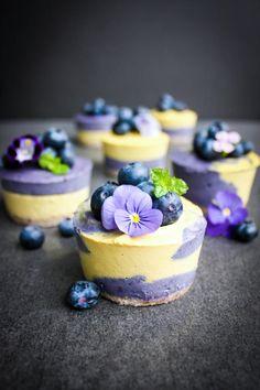 Maqui Mango Cheesecakes