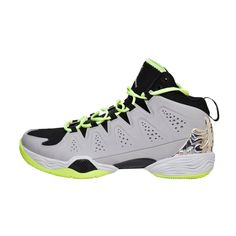 14215e2300a Nike Jordan Melo M10 Basketball Shoes Metallic Silver Black Volt Men s size  10.5  Nike
