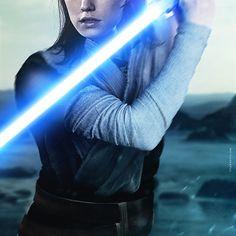 """The Last Jedi Movie Poster"" by Tyler Wetta"