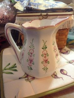 Shabby Chic Country Cottage Handpainted by FrenchCountryGirl, $35.00