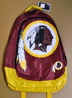 Washington Redskins Leather Executive Messenger Bag