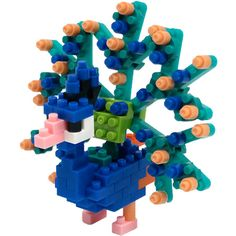 Nanoblock Peacock by Schylling - $9.95
