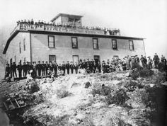 Then and Now photos: Who knew there used to be a hotel atop Steptoe Butte? #spokane #history