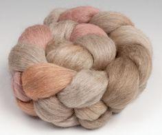 Yak+Silk+Merino+Top+Roving+Handpainted+2+oz+by+RavenRidgeFiberArts,+$23.00