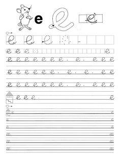"""Képtalálat a következőre: """"folyóírás abc"""" Handwriting Worksheets, Tracing Worksheets, Alphabet Worksheets, Preschool Worksheets, Preschool Activities, Teaching Tips, Fun Learning, Children, Writing"""