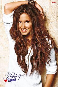 Ashley Tisdale Brunette Hair