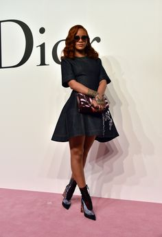 At the Christian Dior fall and winter show in Tokyo.   - ELLE.com