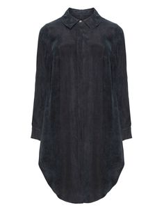 Isolde Roth Long line shirt in Black
