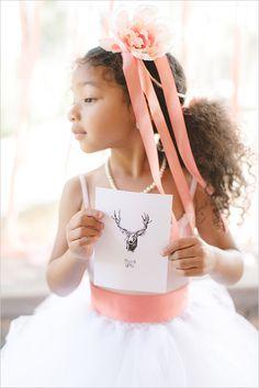 pink flower girl ideas @weddingchicks