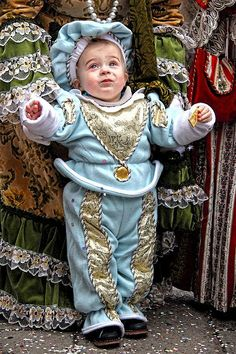 Young boy at the Carnevale in Venice, Italy.  Photo by Per Lidvall  www.AspectusForma.com