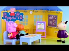 Peppa Pig En Français Compilation 2015 - Dessins Animés FR Duree 01h06 (2/4) - YouTube