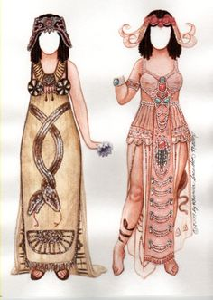 Theda Bara Cleopatra paper doll