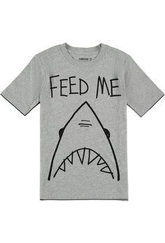 Feed Me Shark Tee