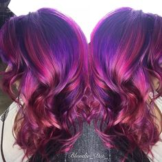 """Dawnelle-Owner/Stylist on Instagram: """"Double Vision  #intensity#cool#hairideas#hairstyles…"""""""