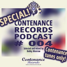 Contenance Records Podcast #004 SPECIAL! Contenance tunes only!