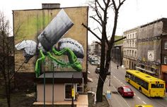 """LUDO """"Palynology"""" Mural In Poland"""