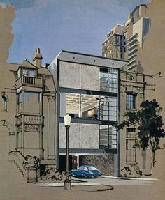 ARCHITECTURAL RENDERING - OUTSIDE