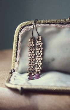 Love these earrings by MireilleLagow on etsy!