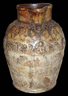 Bristol Museum has a large jug marked  J. Milsom 1820, Hope & Bright