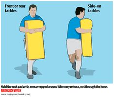 20 minute safe tackling sessions