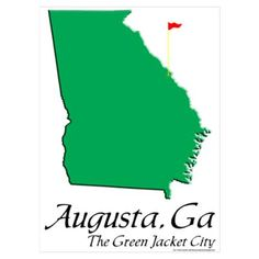 Masters Golf Tounament, Augusta, Georgia - my beautiful hometown