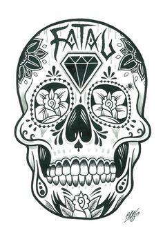 Sugar Skull (Adam Isaac Jackson)